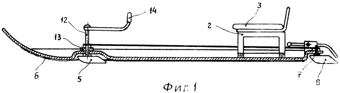 Устройство для спуска с гор (патент 2301757)