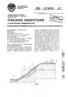 Патент 1573076 Устройство для крепления откосов водоемов