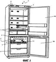 Патент 2446367 Холодильное устройство с временной функцией охлаждения пищевых продуктов