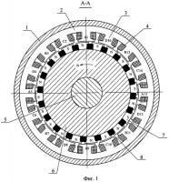 Патент 2414794 Бесконтактная модульная синхронная магнитоэлектрическая машина