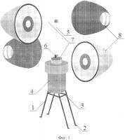 Патент 2622728 Ветроэнергетическая установка