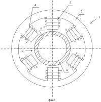 Патент 2557255 Шаговый электродвигатель