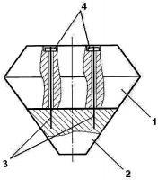 Патент 2645229 Гибкое защитное бетонное покрытие