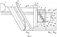 Патент 2422586 Узкотраншейный способ строительства горизонтального дренажа и устройство для его осуществления