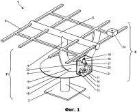 Патент 2611571 Система управления платформой концентраторных солнечных модулей