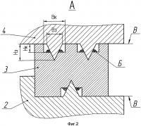 Патент 2624782 Уплотнение газового стыка между втулкой и крышкой цилиндра двигателя внутреннего сгорания