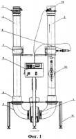 Патент 2550162 Установка для калибровки скважинных газовых расходомеров