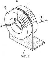 Патент 2303827 Дроссель с составным сердечником, имеющий нелинейную характеристику, и индуктивная входная цепь