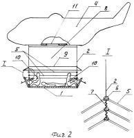 Патент 2387581 Подвесное устройство вертолета