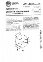 Патент 1260198 Устройство для прессования изделий из бетонных смесей