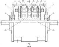 Патент 2437201 Бесконтактная электрическая машина с аксиальным возбуждением