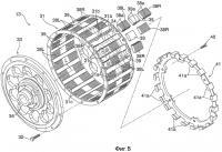 Патент 2435282 Двигатель, структура ротора и магнитная машина