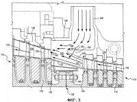 Патент 2331772 Устройство для соединения траекторий потоков аксиально соединенных турбин друг с другом (варианты)