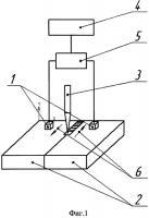 Патент 2477202 Способ снятия остаточных напряжений в кольцевых сварных соединениях металлов при сварке под флюсом и устройство для его реализации