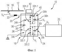 Патент 2658225 Электрическая схема транспортного средства, в частности рельсового транспортного средства