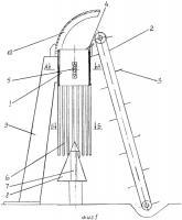 Патент 2343689 Разрезчик рулонированного корма