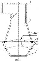Патент 2285200 Топка для сжигания газомазутного топлива