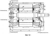 Патент 2394335 Полузакрытый электродвигатель переменного тока