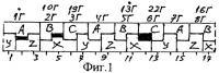 Патент 2335062 Трехфазная двухслойная электромашинная обмотка при 2p=16·c полюсах в z=3(8·b+1)·c пазах
