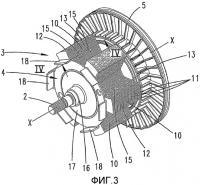 Патент 2359386 Двигатель с реактивным ротором