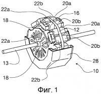 Патент 2510559 Модульное электромагнитное устройство, выполненное с возможностью обратимой работы в качестве генератора и электродвигателя
