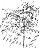 Патент 2299403 Способ совместного определения зенитного и азимутального углов столбовых ям и устройство для его осуществления