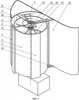 Патент 2551465 Ветроэнергетическая система