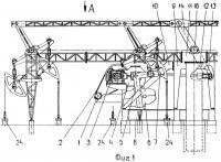 Патент 2466297 Групповой привод штанговых насосов куста скважин (варианты) и способ его осуществления