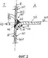 Патент 2619022 Резервуар, изготовленный из изогнутой в виде спирали металлической полосы