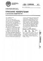 Патент 1269846 Способ обогащения железных руд