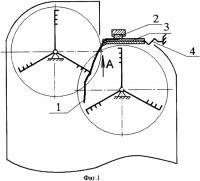 Патент 2358047 Способ трепания лубяных волокон