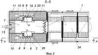 Патент 2627752 Котел с двухкамерной вихревой топкой