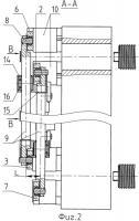 Патент 2410239 Замковое устройство механизма запирания полуформ литьевой машины, например термопластавтомата