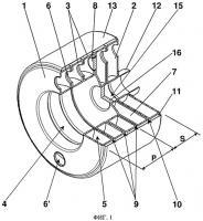Патент 2511803 Секционный отопительный котел из чугуна или алюминия