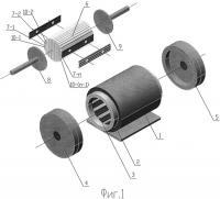 Патент 2541513 Синхронная машина с анизотропной магнитной проводимостью ротора