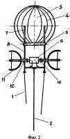 Патент 2637589 Виндроторный аэростатно-плавательный двигатель