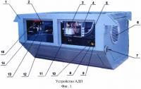 Патент 2638334 Агрегат дизель-генераторный подвагонный (адп)