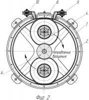 Патент 2472032 Кольцевой мембранный насос