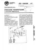Патент 1261820 Подвесная канатная дорога