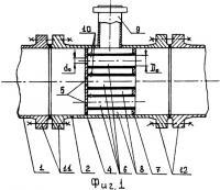 Патент 2325587 Теплообменное устройство прямого смешивания воды и пара