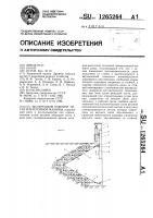 Патент 1265264 Щелерезный рабочий орган землеройной машины