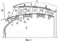 Патент 2556945 Ступень аксиального компрессора турбомашины с барабанным ротором