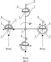 Патент 2531160 Ветротурбинная установка