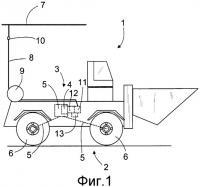 Патент 2539616 Шахтное транспортное средство