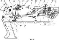 Патент 2529064 Заднее навесное оборудование вибрационного кабелеукладчика