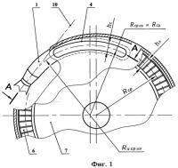 Патент 2433280 Сопловой аппарат активной турбины