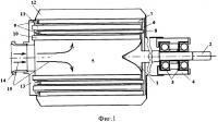Патент 2654304 Многоступенчатая газовая силовая турбина с консольным расположением