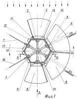 Патент 2289722 Ветродвигатель