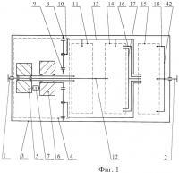 Патент 2460921 Бесступенчатая коробка передач (варианты)
