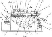 Патент 2572492 Устройство для отделения семян подсолнуха от корзины